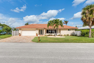 Singer Island Single Family Home For Sale: 1050 Morse Boulevard