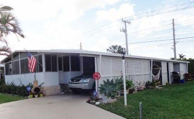 Boynton Beach FL Mobile Home For Sale: $94,900