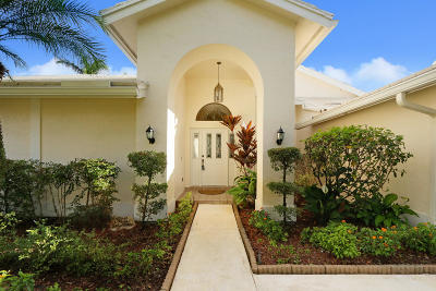 Jupiter Single Family Home For Sale: 6924 Misty Lake Way