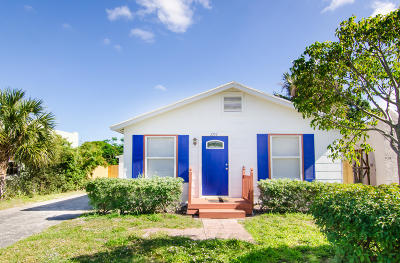 West Palm Beach Single Family Home For Sale: 3912 Greenwood Avenue