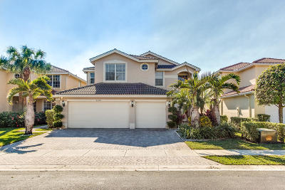 Lake Worth Single Family Home For Sale: 5342 Grand Banks Boulevard