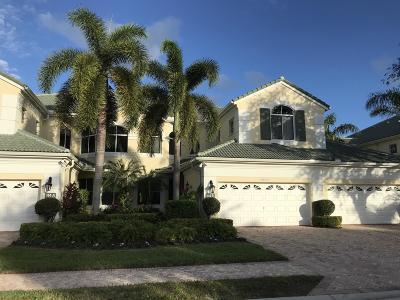 Palm Beach Gardens Rental For Rent: 114 Palm Point Circle #B