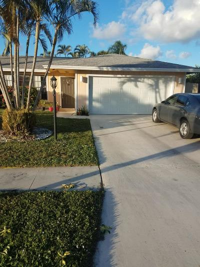 West Palm Beach Single Family Home For Sale: 2546 Inisbrook Road