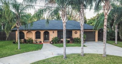 West Palm Beach FL Single Family Home For Sale: $319,000
