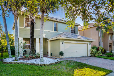Coconut Creek Single Family Home For Sale: 5140 Heron Place