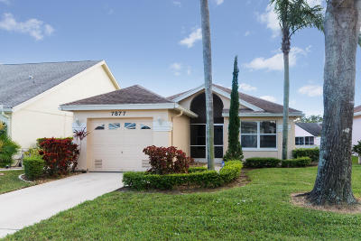 Delray Beach Single Family Home For Sale: 7877 Mansfield Hollow Road