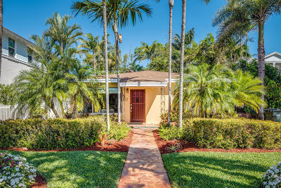 Delray Beach Single Family Home Contingent: 17 NE 7th Street