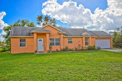 Loxahatchee Single Family Home Contingent: 17380 36th Court