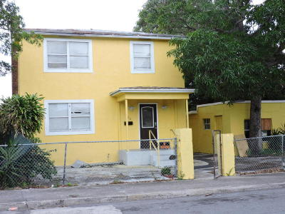 West Palm Beach Multi Family Home For Sale: 906 4th Street