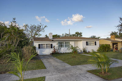 West Palm Beach Single Family Home For Sale: 329 Laurie Road