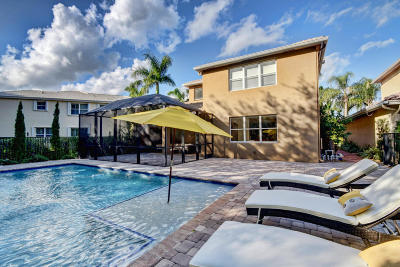 Boca Raton Single Family Home For Sale: 11375 Sea Grass Circle