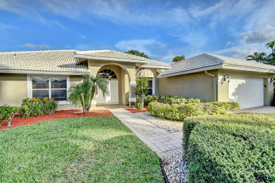 Boca Raton Single Family Home For Sale: 11055 Boca Woods Lane