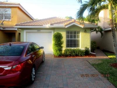 West Palm Beach Single Family Home For Sale: 3317 Commodore Court