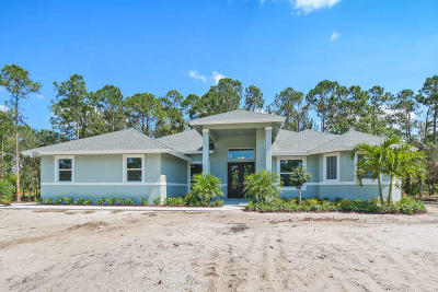 Jupiter Single Family Home For Sale: 16925 97th Way
