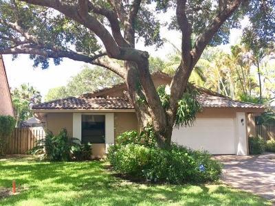 Boca Raton Single Family Home For Sale: 6576 Sweet Maple Lane