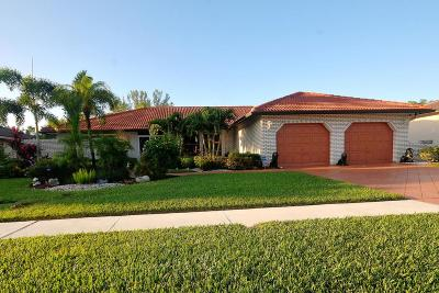 Boca Raton Single Family Home For Sale: 10098 Canoe Brook Circle
