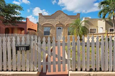 Lake Worth Multi Family Home For Sale: 513 S K Street