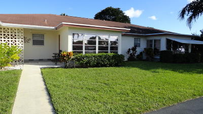 Delray Beach Single Family Home For Sale: 4540 NW 3rd Court #B