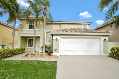 Boynton Beach Single Family Home For Sale: 131 Citrus Park Circle