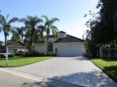 Palm Beach Gardens Single Family Home For Sale: 13960 Crosspointe