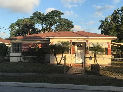 West Palm Beach Single Family Home For Sale: 5414 Garden Avenue