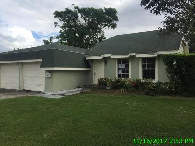 Delray Beach Single Family Home For Sale: 3636 Avenue De Gien