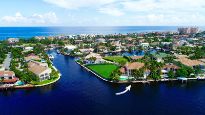 Highland Beach Single Family Home For Sale: 4206 Intracoastal Drive