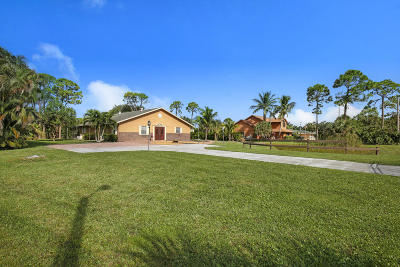 Lake Worth Single Family Home For Sale: 5101 Palm Way