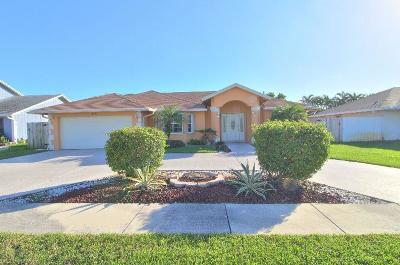 Boynton Beach Single Family Home For Sale: 814 SW 1st Court