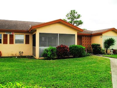 Delray Beach Single Family Home For Sale: 14588 Canalview Drive #C