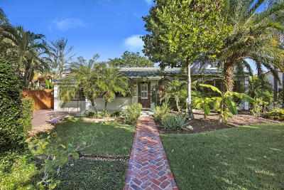 West Palm Beach Single Family Home For Sale: 333 Potter Road