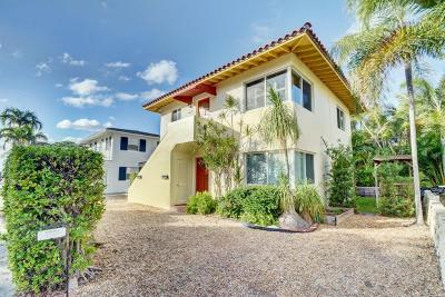 Palm Beach Single Family Home For Sale: 227 Oleander Avenue