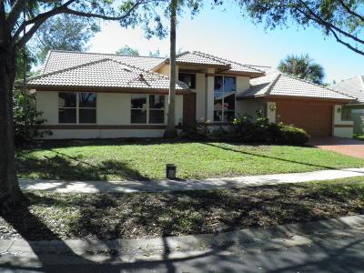 Boca Raton Single Family Home For Sale: 10663 Avenida Santa Ana