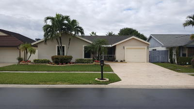 Boca Raton Single Family Home For Sale: 21255 Summertrace Circle