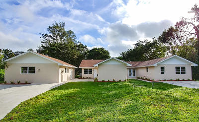 Royal Palm Beach Single Family Home For Sale: 4180 120th Avenue