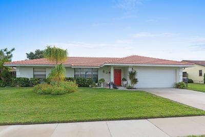 Wellington Single Family Home For Sale: 11646 Anhinga Drive