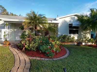 Lake Worth Single Family Home For Sale: 1506 M Street