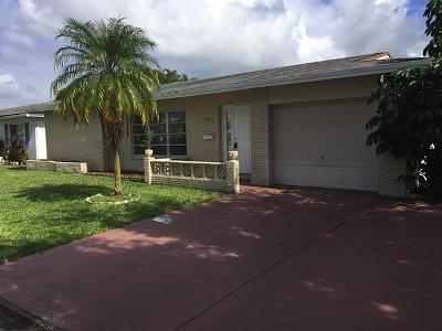 Tamarac Single Family Home For Sale: 5718 NW 87th Avenue