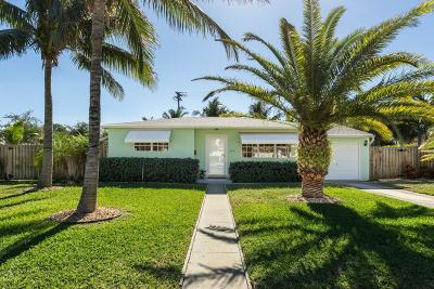 West Palm Beach Single Family Home For Sale: 306 Maddock Street