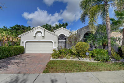 Boynton Beach Single Family Home For Sale: 10042 Diamond Lake Drive