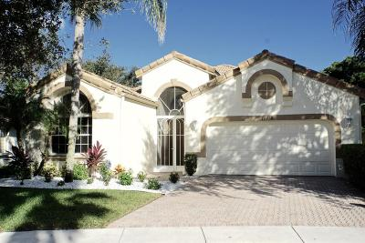 Boynton Beach Single Family Home For Sale: 10458 Gold Leaf Drive