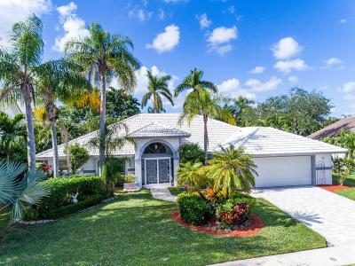 Lake Worth Single Family Home For Sale: 6379 Rock Creek Drive