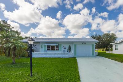 Boynton Beach Single Family Home For Sale: 1394 SW 17th Avenue