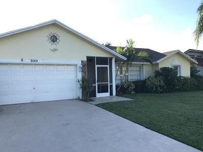Boca Raton Single Family Home For Sale: 320 NW 36th Court