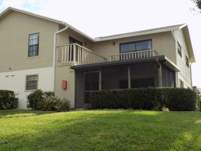 Hobe Sound Townhouse For Sale: 7356 SE Jamestown Terrace