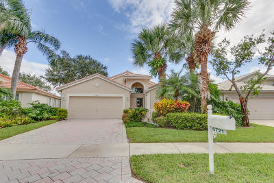 Boynton Beach Single Family Home For Sale: 6721 Sun River Road