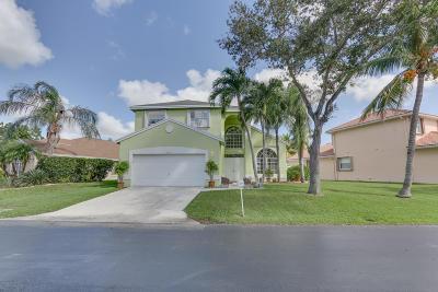 Boynton Beach Single Family Home For Sale: 1320 Fairfax Circle E