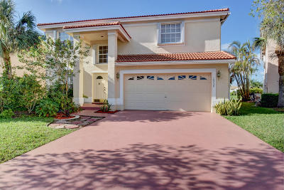 Boca Raton Single Family Home For Sale: 18239 Coral Isles Drive