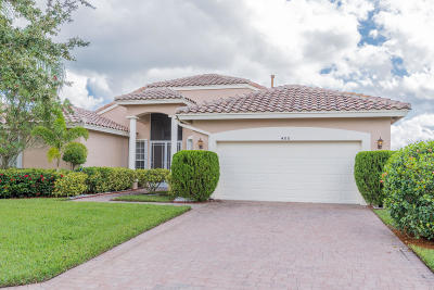 Port Saint Lucie Single Family Home For Sale: 400 NW Shoreview Drive
