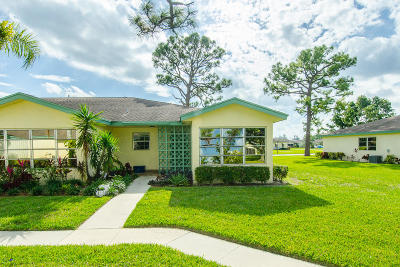 Delray Beach Single Family Home For Sale: 5253 Lakefront Boulevard #D